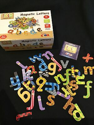 Wooden Magnetic Letters VGC • 4£