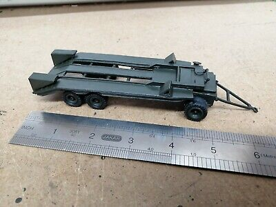 B. & B. MILITARY Army MODELS - WHITE METAL 12  Wheel Articulated Trailer Built.  • 13£