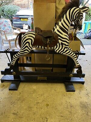 Limited Edition 10 Of 25 Millenium Rocking Zebra Collector Large Rare Horse • 1,100£