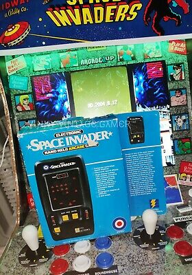Entex SPACE INVADERS Excellent Condition Game Box Poly Insert Game Instructions • 78£