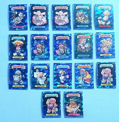 Garbage Pail Kids SAPPHIRE Base Card Lot (51) No Duplicates (LOT 1) • 240£