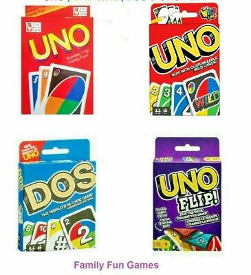 Standard UNO Card Game Family Children Friends Playing Fun Cards-Normal Card • 3.29£