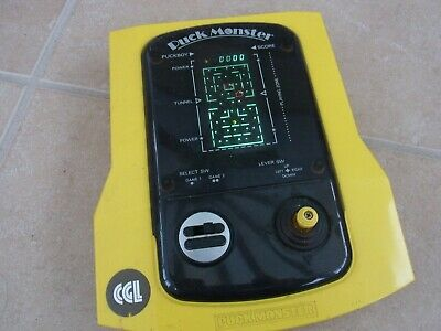 Puck Monster Cgl 1980's Handheld Console Good Working Condition • 39.99£