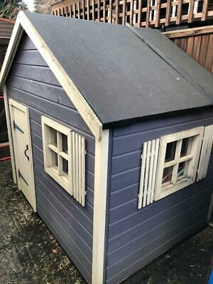 Handcrafted Wooden Playhouse • 50£