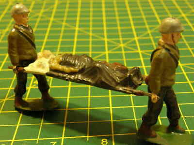 Vintage 'Original' Charbens & Co Lead Soldiers, Stretcher Party. • 20£