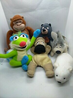 TV Characters & More McDonald's Toys Soft Plush Cuddly Toys - X6 Bundle  • 4.50£