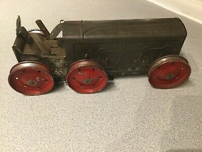 Vintage Original Tri-ang   Tractor Working With Key • 55£