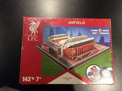 OFFICIAL LIVERPOOL FC 3D ANFIELD STADIUM MODEL BNIB UNWRAPPED EASYfit Technology • 16£