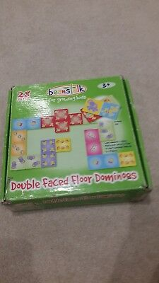 Double Faced Floor Dominos Age 3+ • 3.99£