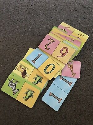 Animal/Number Card Dominoes • 1.50£