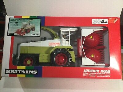 Britains 9586 Claas Forage Harvester & Kemper Champion Within Its Original Box • 75£