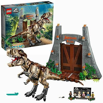 LEGO Jurassic Park: T.Rex Rampage Set With 6 Minifigures - 75936 • 189.95£