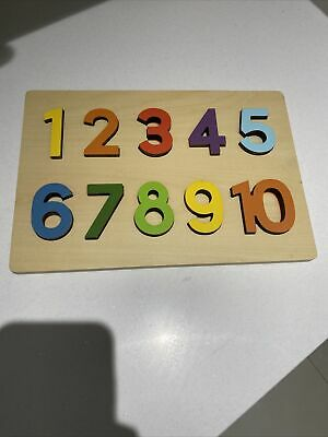 Tiny Me Wooden Numbers • 9£