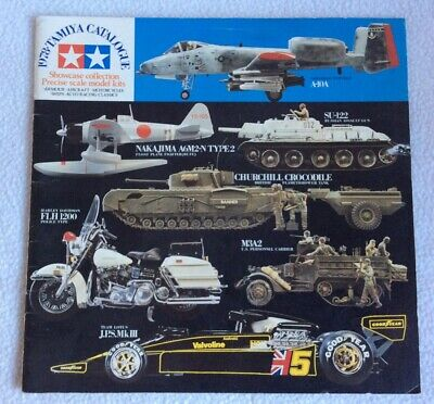 Tamiya 1978 Model Kit Catalogue • 4.99£