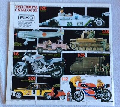 Tamiya 1983 Catalogue • 4.99£