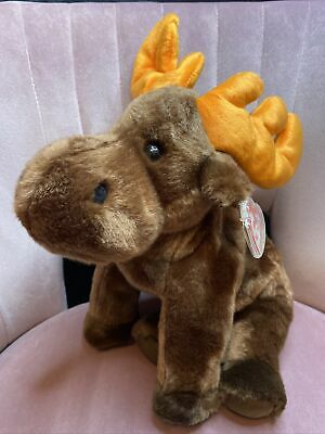 TY Beanie Buddies Collection - Chocolate The Moose | 1999 | Christmas • 29.99£