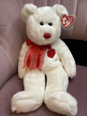 TY Beanie Buddies Collection - Valentino The Bear | 1999 | Valentines ❤️ • 29.99£