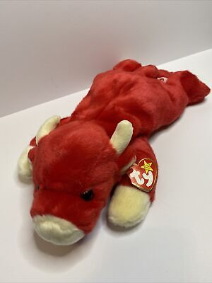 TY Beanie Buddies Collection -  Snort The Bull | 1998 • 29.99£