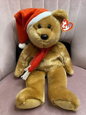 TY Beanie Buddies Collection - 1997 Holiday Teddy Bear | 2001 • 29.99£