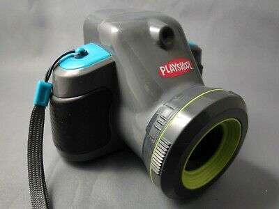PLAYSKOOL KIDS SHOWCAM CAMERA AND PROJECTOR Play Camera Toy Blue/Green • 10.99£