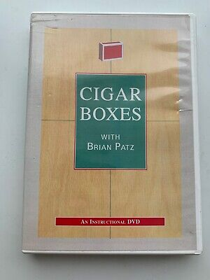 Cigar Boxes Instructional Dvd With Brian Patz (Juggling) • 7£