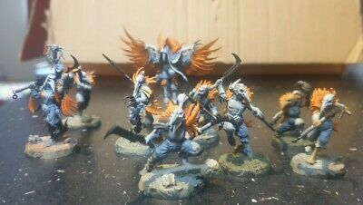 Warhammer Warcry Corvus Cabal Part Painted  • 10£