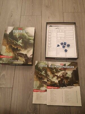 Dungeons & Dragons Starter Set D&D Boxed Game • 4.50£