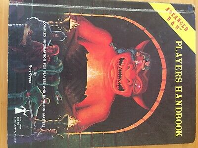 Advance Dungeons And Dragons Players Manual • 10.50£