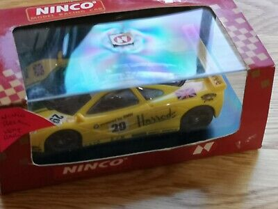 Ninco 50130 McLaren GTR  Harrods  Scalextric Compatible Unused Boxed • 35£