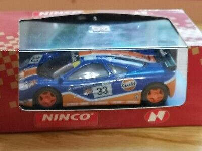Ninco 501340 McLaren GTR  Gulf .. Scalextric Compatible Unused Boxed • 35£
