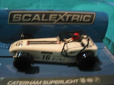 Scalextric C3723  Caterham Superlight 2015 #16 White D Robinson Bnib  • 35£