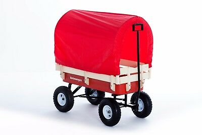 Pull Along Retrowagen + Canopy + Pad - Wagon Retro Festival Cart Kids Retrowagon • 86£