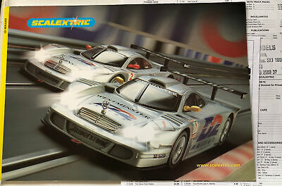 Scalextric 2000 Catalogue 41st Edition  Mint With Track Prices • 3.99£