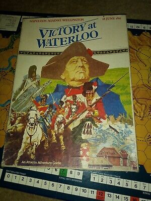 Victory At Waterloo RPG 18 June 1815  Attactix Games 100% Complete • 30£