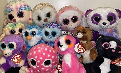 Ty Beanie Boo Boos - RARE- Different Sizes- With Swing Tags- Good Condition  • 6£