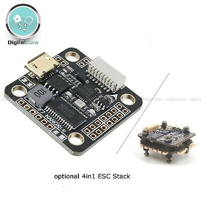 Mini 20mm F7 F722 OSD 2-6S Flight Controller W/wo 35A 4in1 ESC Stack - Whoop • 27.95£