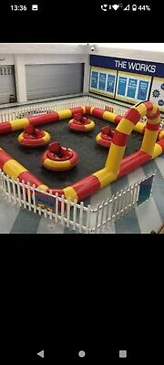 Bouncy Castle Bumper Cars 4 Cars And Arena • 3,000£