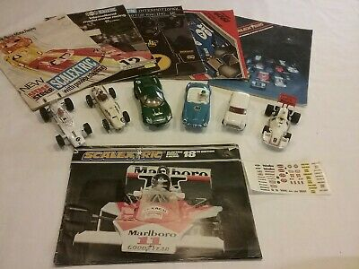 Scalextric Vintage Scalextric Cars And  Catalogues Collection 1960s /1970s  • 51£
