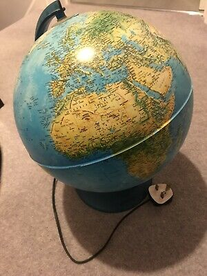 Globe. Illuminated. Nova Rico. 30cm. Low Starting Price. L@@K • 10£
