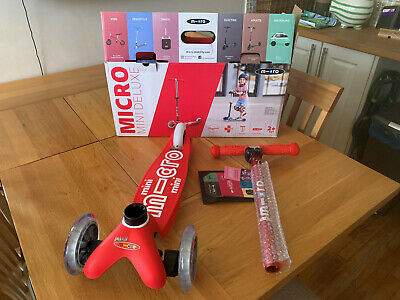 Mini Micro Scooter Deluxe - Red - Age 2 To 5 Years • 53£
