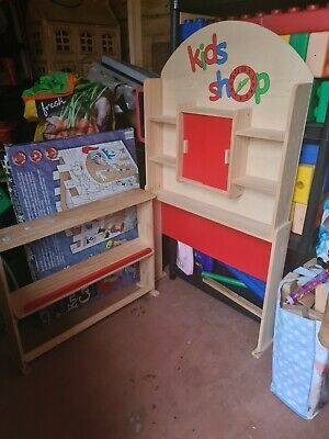 Wooden Play Shop Role Play Corner Educational/Home Learning • 16£