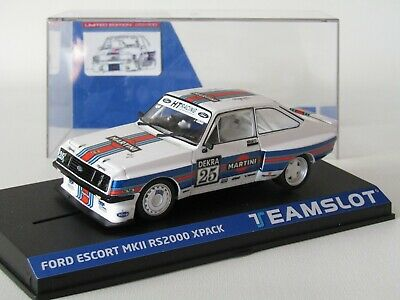 Scalextric / Teamslot Escort Mk11 Rs2000 Xpack Only 400 New • 39.50£