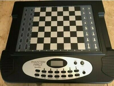 Phantom Force Excalibur Chess Electronic Self Moving Pieces Talking Computer • 595£