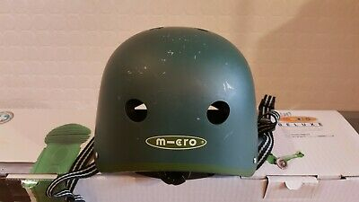 Micro Helmet Green Child Size 48-53cm • 10£