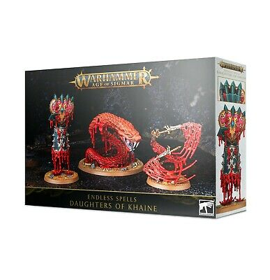 Warhammer Age Of Sigmar Daughters Of Khaine Endless Spells • 18£