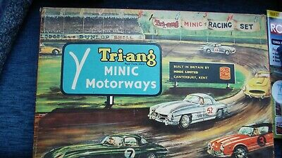 Triang Minic Motorway Set M1521, All Items With Extra Police Car, Used, Boxed. • 99.95£