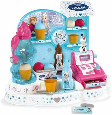 🔥 Disney Frozen 2 Ice Cream Factory Smoby Play Shop ✨✨GREAT PRICE✨✨ • 34.99£