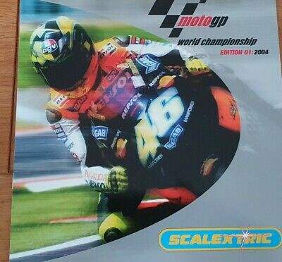 Scalextric Moto Gp Catalogue Edition 01 2004 • 10.99£
