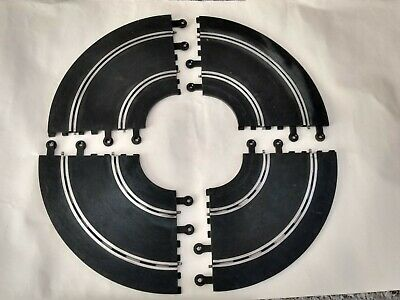 4 X Scalextric Classic PT/56 Track Sections - 90° Double Inner Hairpin Curves • 10.50£