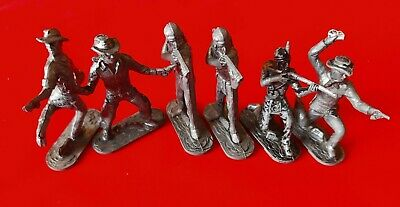 Lone Star Diecast Cowboys & Indian Model Figures • 1.99£